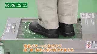 自動洗浄,靴底,滑らない